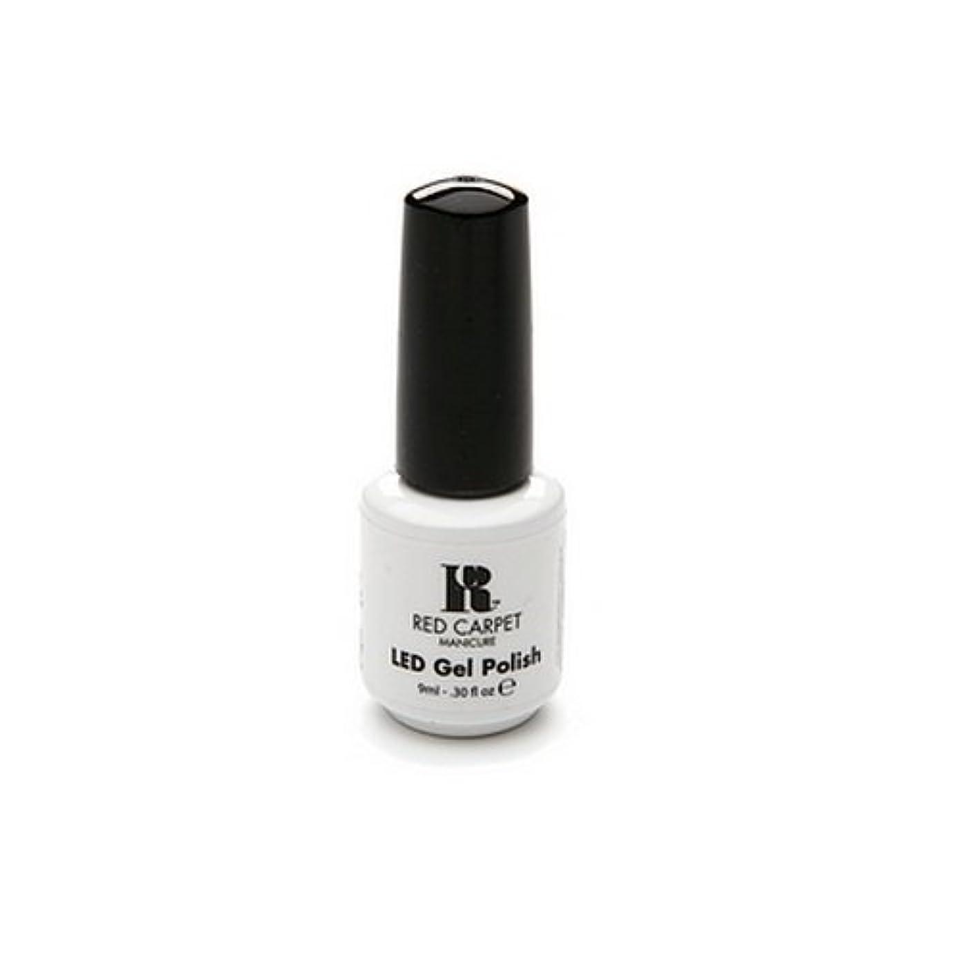 先史時代のアーサーイサカRed Carpet Manicure - LED Nail Gel Polish - Iconic Beauty - 0.3oz / 9ml