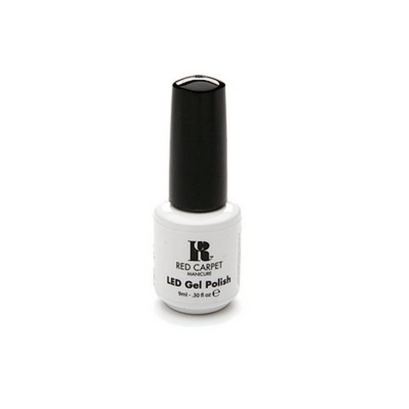 夕食を食べるアラーム抹消Red Carpet Manicure - LED Nail Gel Polish - Iconic Beauty - 0.3oz / 9ml