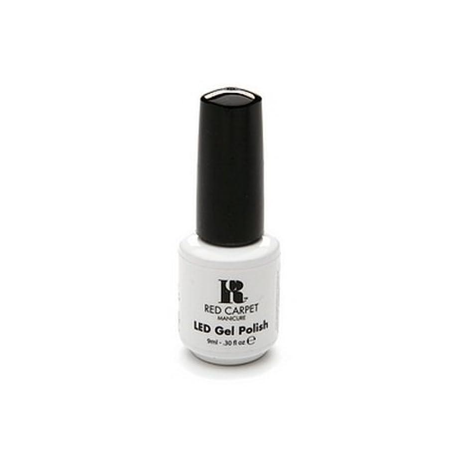 責任者カストディアン放散するRed Carpet Manicure - LED Nail Gel Polish - Iconic Beauty - 0.3oz / 9ml