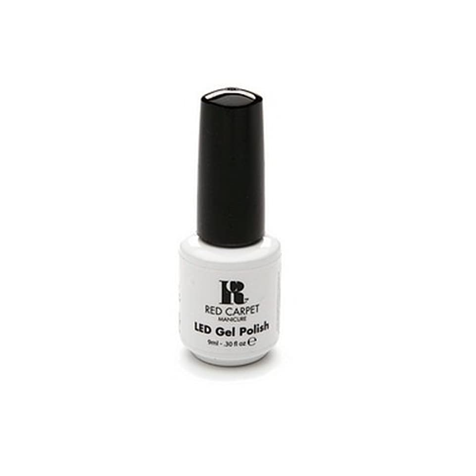 規則性貼り直すダニRed Carpet Manicure - LED Nail Gel Polish - Iconic Beauty - 0.3oz / 9ml