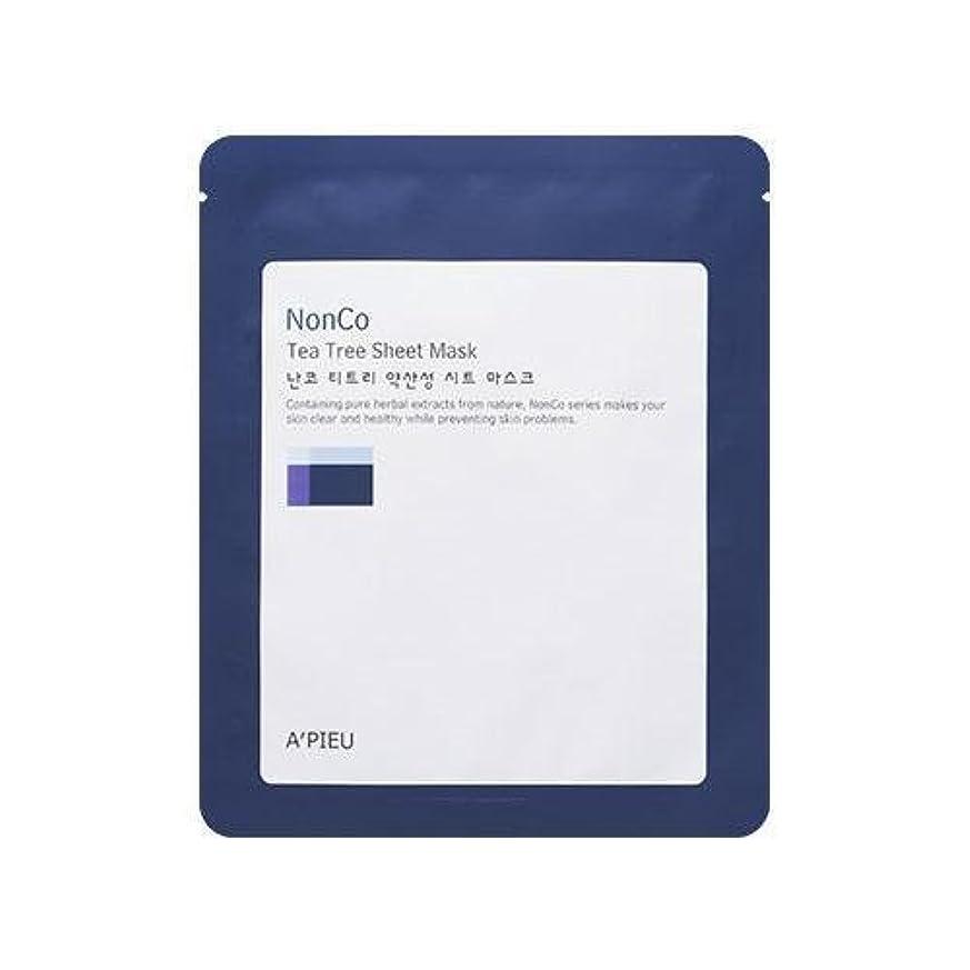 かけがえのないレガシー包帯APIEU Nanco Tea Tree Sheet Mask (3EA)/ Made in Korea