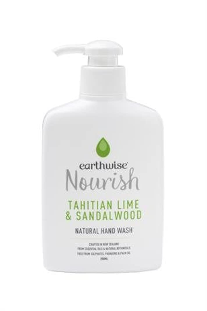 earthwise アースワイズ ナチュラルハンドウォッシュ タヒチアンライム&サンダルウッド 液体 石鹸 250ml