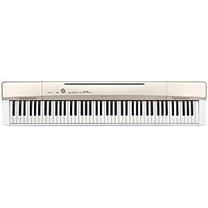 CASIO 88鍵盤 デジタルピアノ Privia PX-160GD シャンパンゴールド