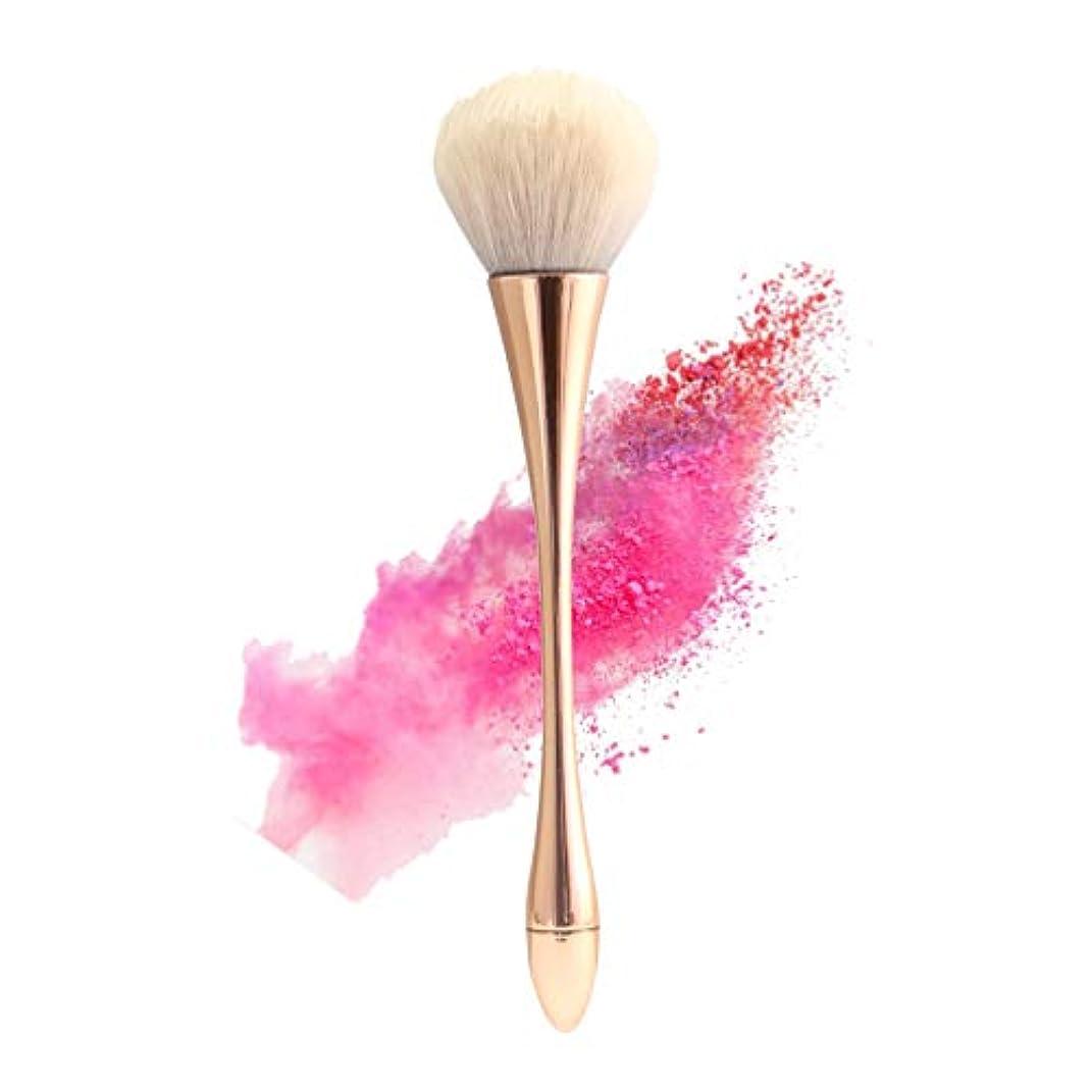 屋内で優遇背が高いSHARE BEAUTY メイクブラシ シングルメイクブラシ ゴブレットの形の化粧ブラシ スリムなウエストの形の化粧ブラシ 人気 柔らかい 高品質 通勤、出張、旅行に適用 贈り物に最適 メイクアップツール 化粧筆 (ゴールド)