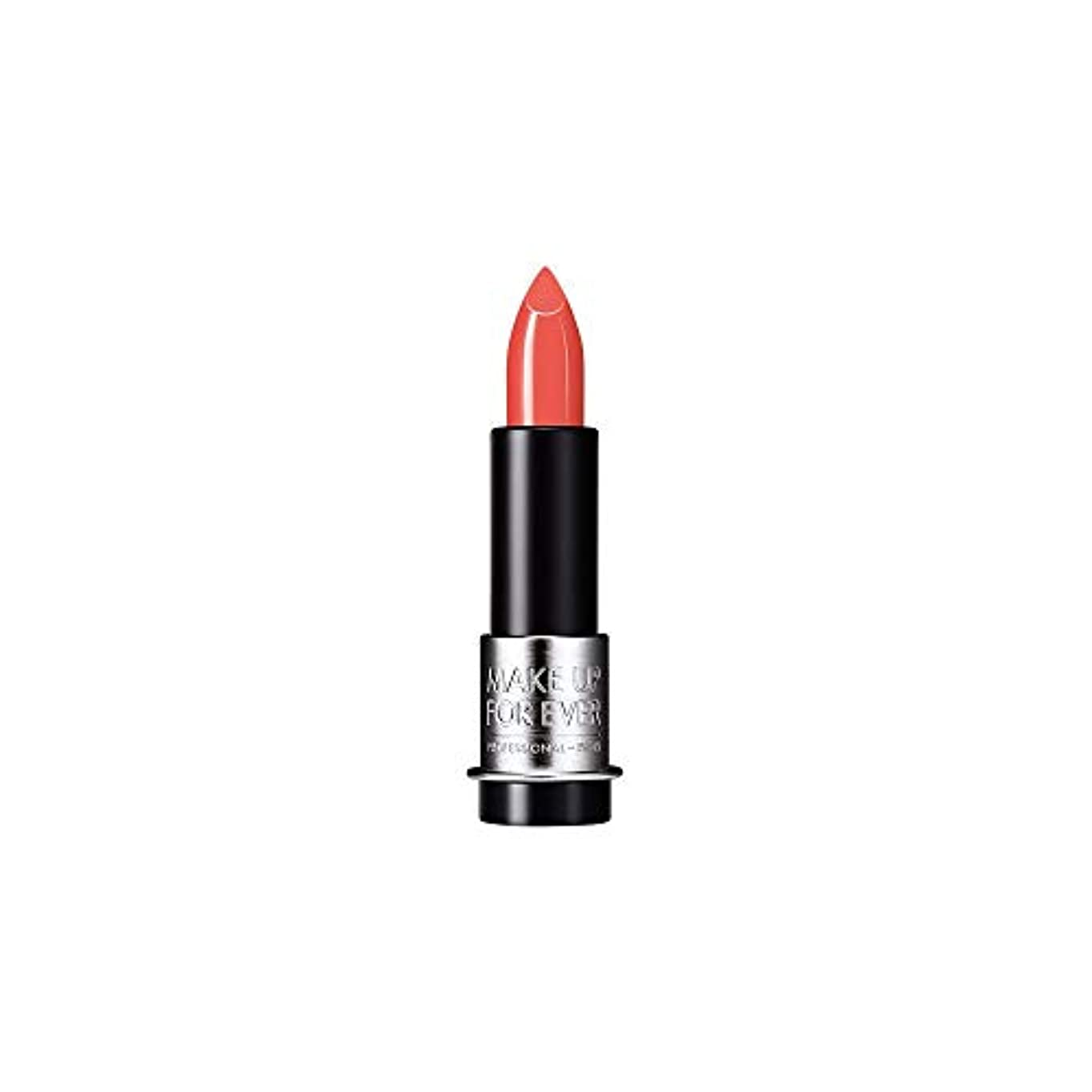 カール部族苦い[MAKE UP FOR EVER] オレンジ色のサンゴ - これまでアーティストルージュクリーム口紅3.5グラムのC303を補います - MAKE UP FOR EVER Artist Rouge Creme Lipstick...