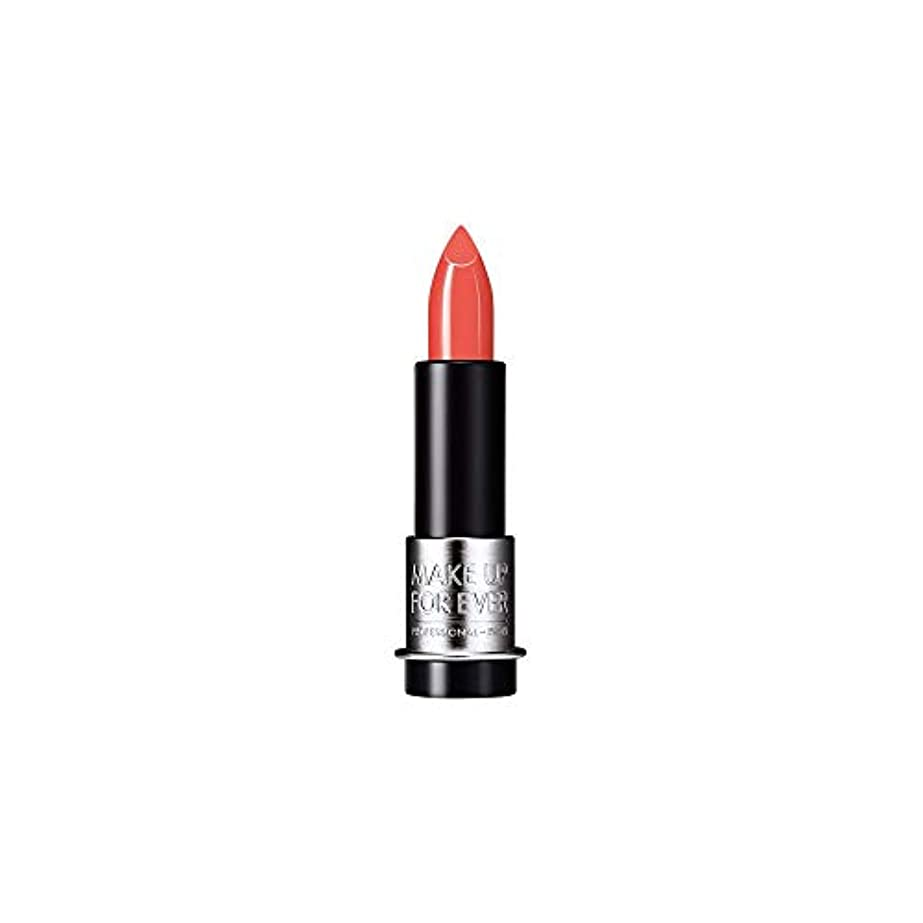 香りゴネリル失態[MAKE UP FOR EVER] オレンジ色のサンゴ - これまでアーティストルージュクリーム口紅3.5グラムのC303を補います - MAKE UP FOR EVER Artist Rouge Creme Lipstick...