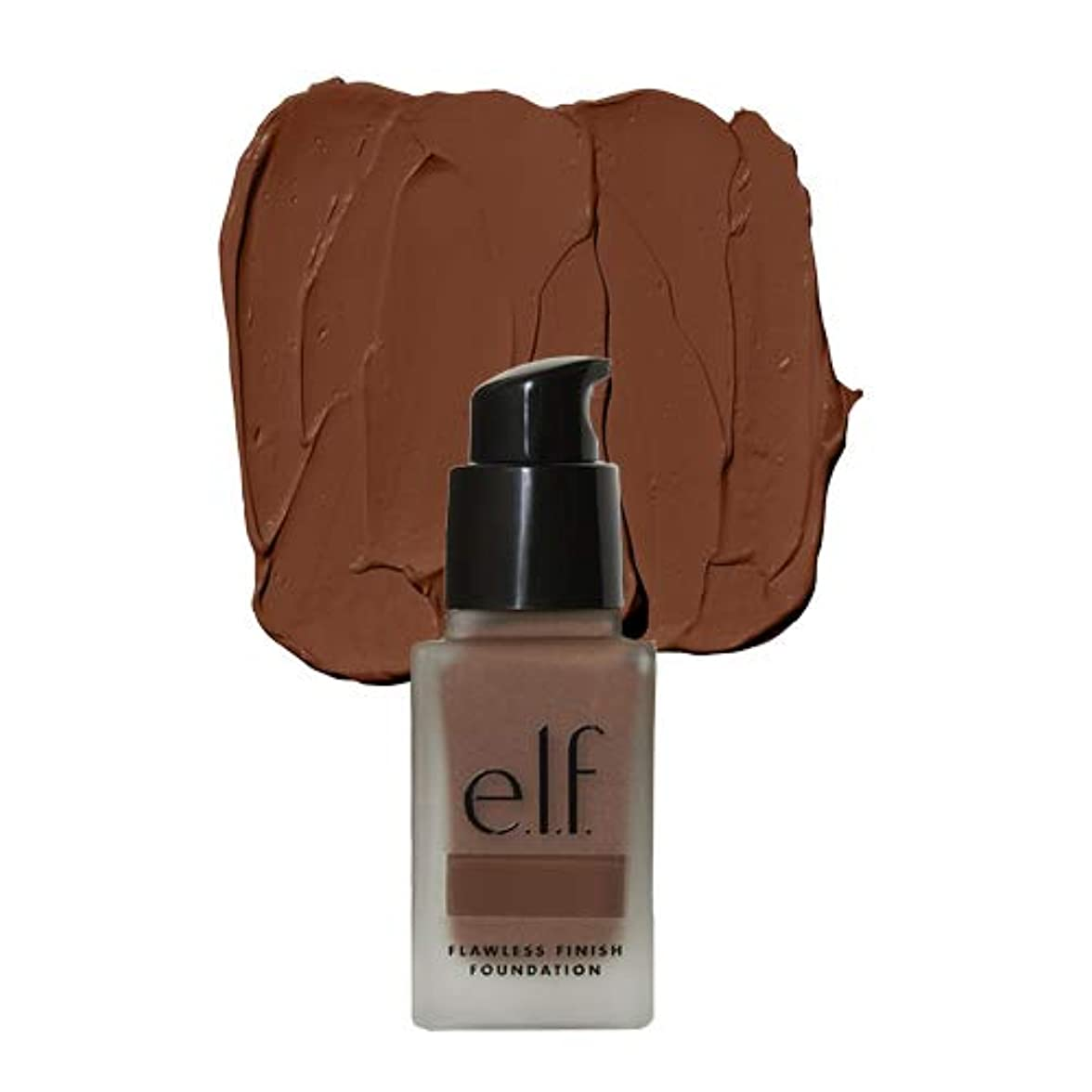 危険なストロー意外e.l.f. Oil Free Flawless Finish Foundation - Mocha (並行輸入品)