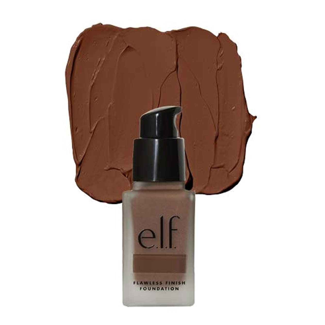 毒液無限大トムオードリース(3 Pack) e.l.f. Oil Free Flawless Finish Foundation - Mocha (並行輸入品)