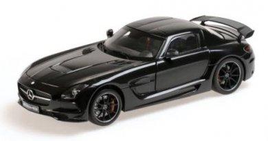 ミニチャンプス 110033020 1/18 メルセデス ベンツ SLS AMG BLACKシリーズ 2013 ブラックメタリック