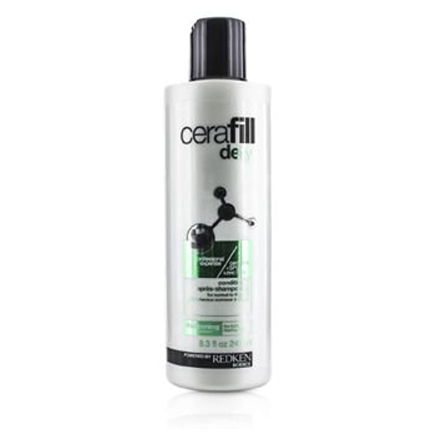 パースブラックボロウプットシルク[Redken] Cerafill Defy Thickening Conditioner (For Normal to Thin Hair) 245ml/8.3oz