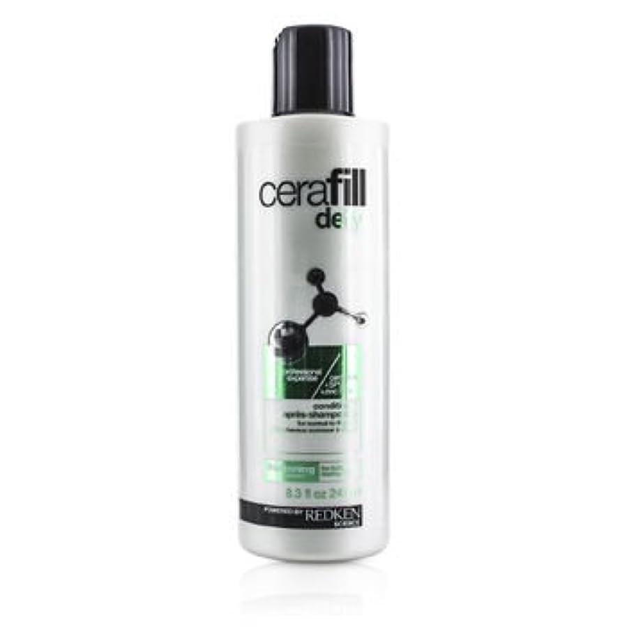 意見を除く応じる[Redken] Cerafill Defy Thickening Conditioner (For Normal to Thin Hair) 245ml/8.3oz