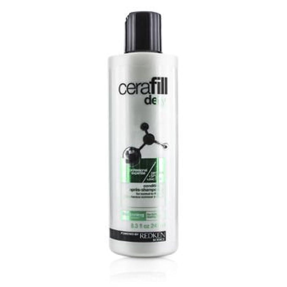 スクリーチ世界の窓非互換[Redken] Cerafill Defy Thickening Conditioner (For Normal to Thin Hair) 245ml/8.3oz