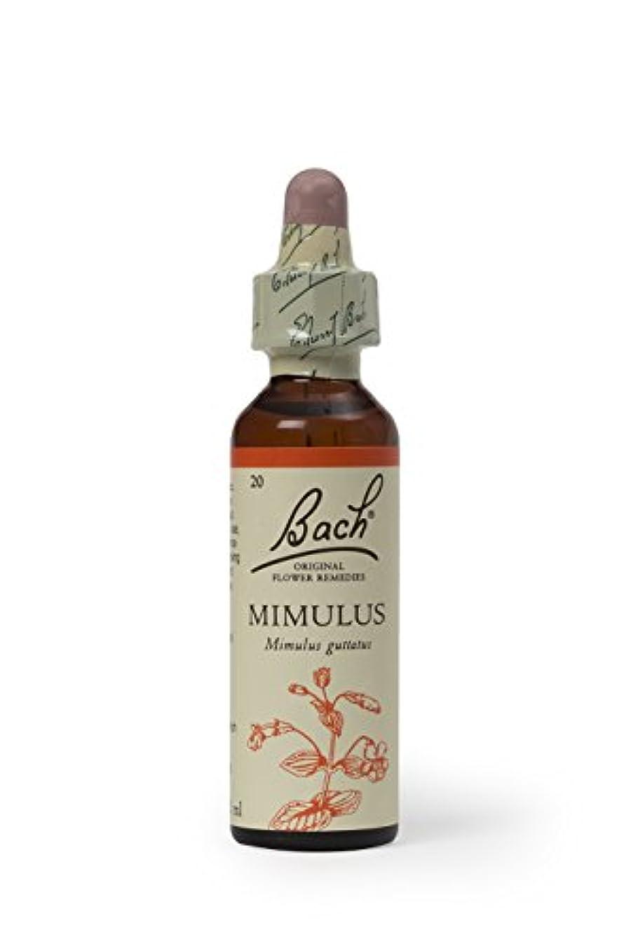素晴らしいですビタミン阻害するバッチフラワー ミムラス アルコールベース 20ml