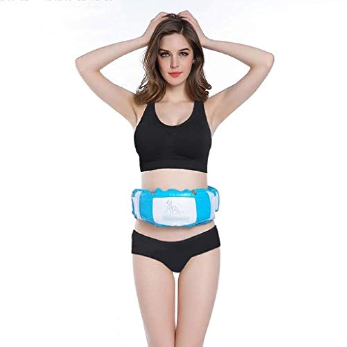 独立してダウン外国人体形Slim身ベルト、Slim身マシン、スポーツSlim身機器、細いウエストと細い腹、調整可能なフィットネスウエスト振動ベルト、男性と女性の減量機