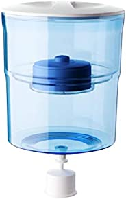 Aquaport Water Filter Bottle, Clear/Blue, AQP-FBOT4