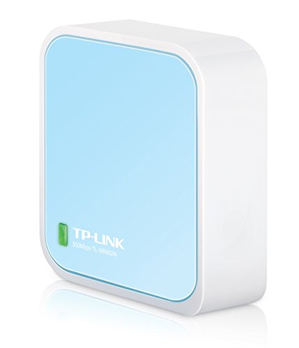 TP-Link ナノ無線LANルーター 11n/g/b 300Mbps ホテルでWiFi USB給電型 ブリッジ(APモード)/中継機能/子機機能付き 3年保証 TL-WR802N
