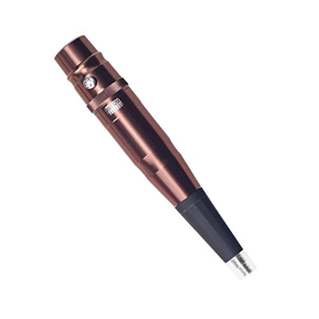 干渉する競う国家眉毛ペンシルリップライナータトゥーペンタトゥーパーマネントメイクアップアイブロウペンシルアイブロウメイクアップリップパターンマシン電動ペン銃,Brown