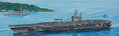 プラモデル Mシリーズ 1/700 米国海軍原子力空母 CVN-73 ジョージ・ワシントン2008 エッチングパーツ付き