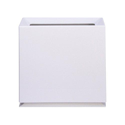 イデアコ ゴミ箱 チューブラー ブリック ホワイト 8.5L