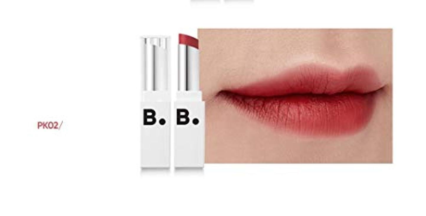 描くねばねば空港banilaco リップドローマットブラストリップスティック/Lip Draw Matte Blast Lipstick 4.2g #MPK02 Dry Marsala [並行輸入品]