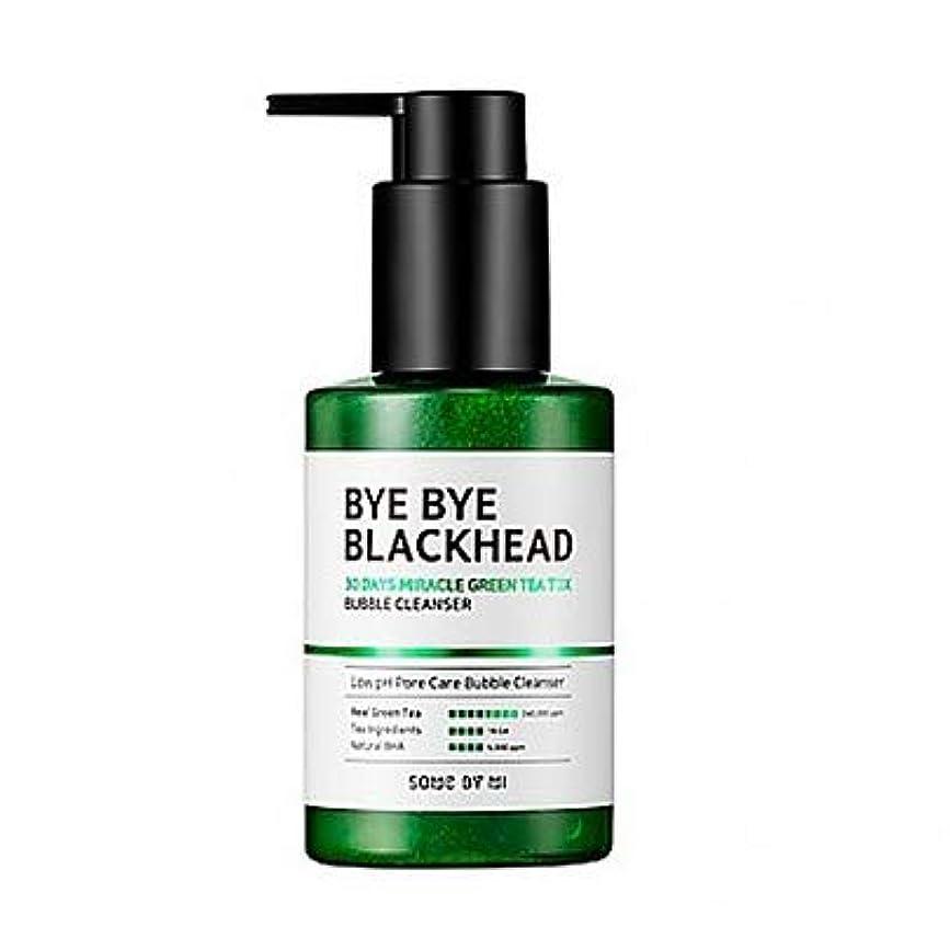 恨み妨げる正しく[SOME BY MI] BYE BYE BLACKHEAD 30DAYS MILACLE GREEN TEA TOX BUBBLE CLEANSER 120g / [サムバイミー] バイバイブラックヘッド30DAYS...