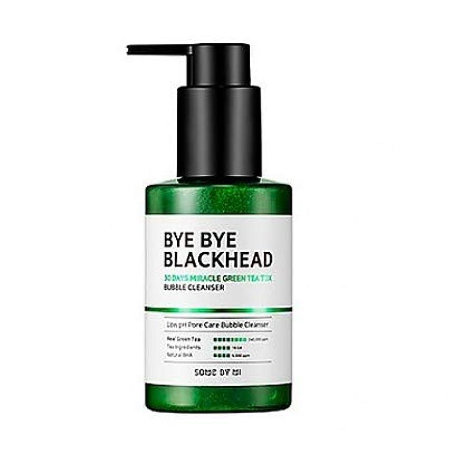 オートメーションベーシック連想[SOME BY MI] BYE BYE BLACKHEAD 30DAYS MILACLE GREEN TEA TOX BUBBLE CLEANSER 120g / [サムバイミー] バイバイブラックヘッド30DAYS...