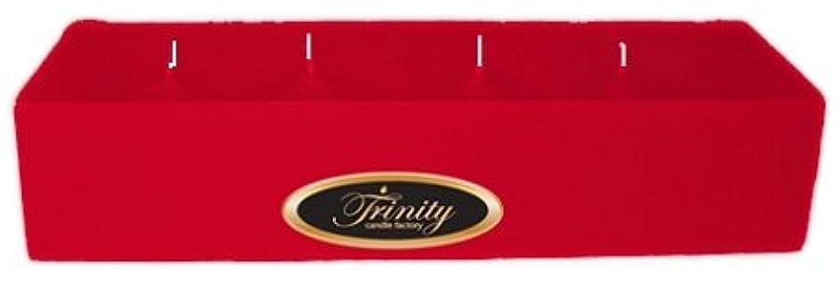 なに一過性卵Trinity Candle工場 – Holly Berry – Pillar Candle – 12 x 4 x 2 – ログ