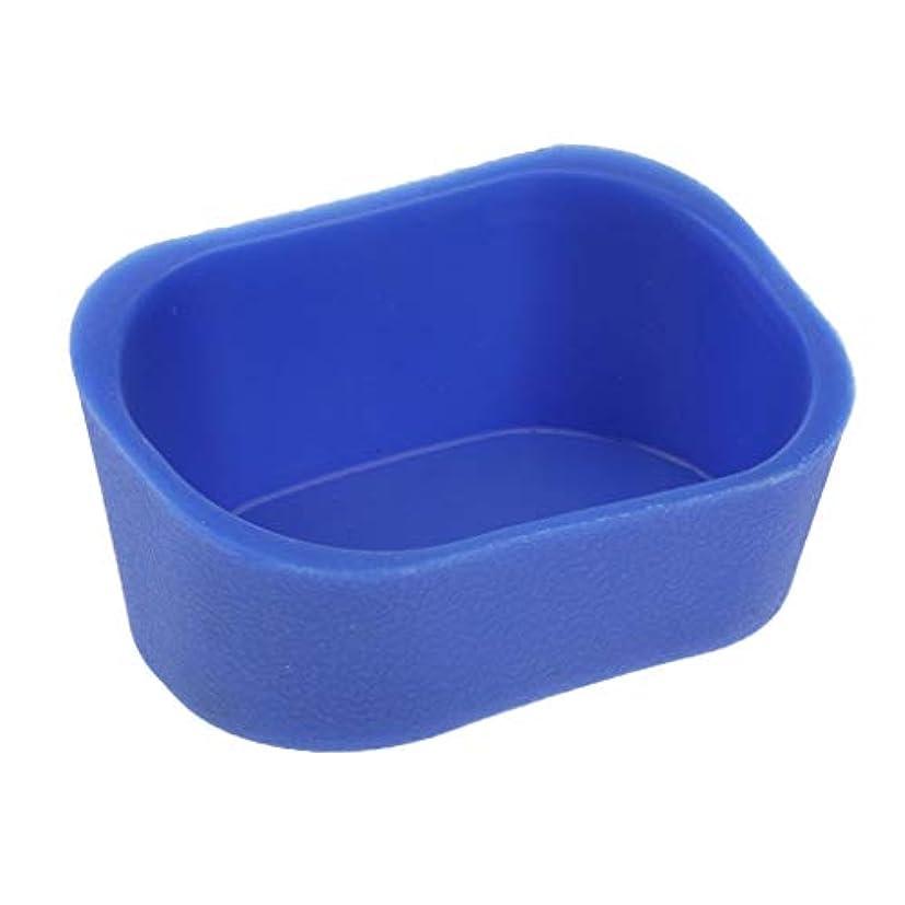 内向き麻酔薬数字サロンネックピロー シャンプーボウル ネックレス クッション ピロー サロン 5色選べ - 青