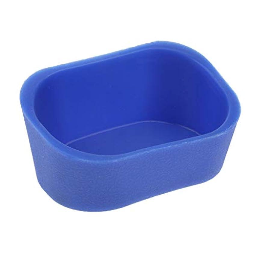 平らにする目覚める歩行者サロンネックピロー シャンプーボウル ネックレス クッション ピロー サロン 5色選べ - 青