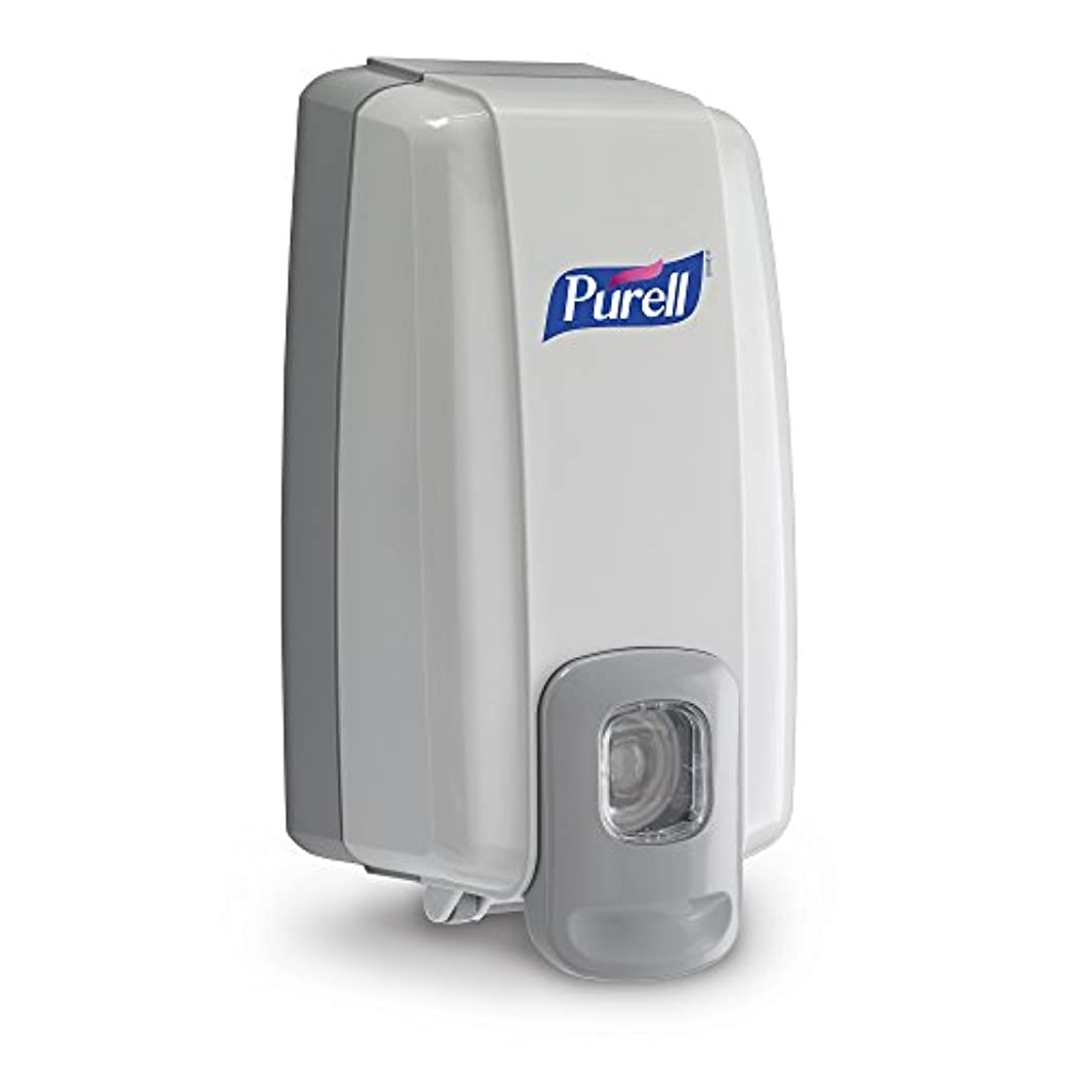 アフリカ人火星専門NXT Instant Hand Sanitizer Dispenser, 1000ml, 5-1/8w x 4d x 10h, WE/Gray (並行輸入品)