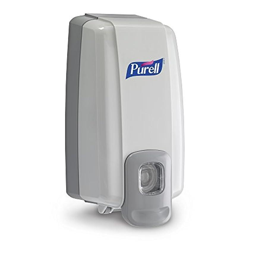 時計回り蜜破裂NXT Instant Hand Sanitizer Dispenser, 1000ml, 5-1/8w x 4d x 10h, WE/Gray (並行輸入品)