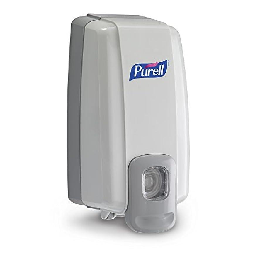 クマノミ飾り羽周りNXT Instant Hand Sanitizer Dispenser, 1000ml, 5-1/8w x 4d x 10h, WE/Gray (並行輸入品)