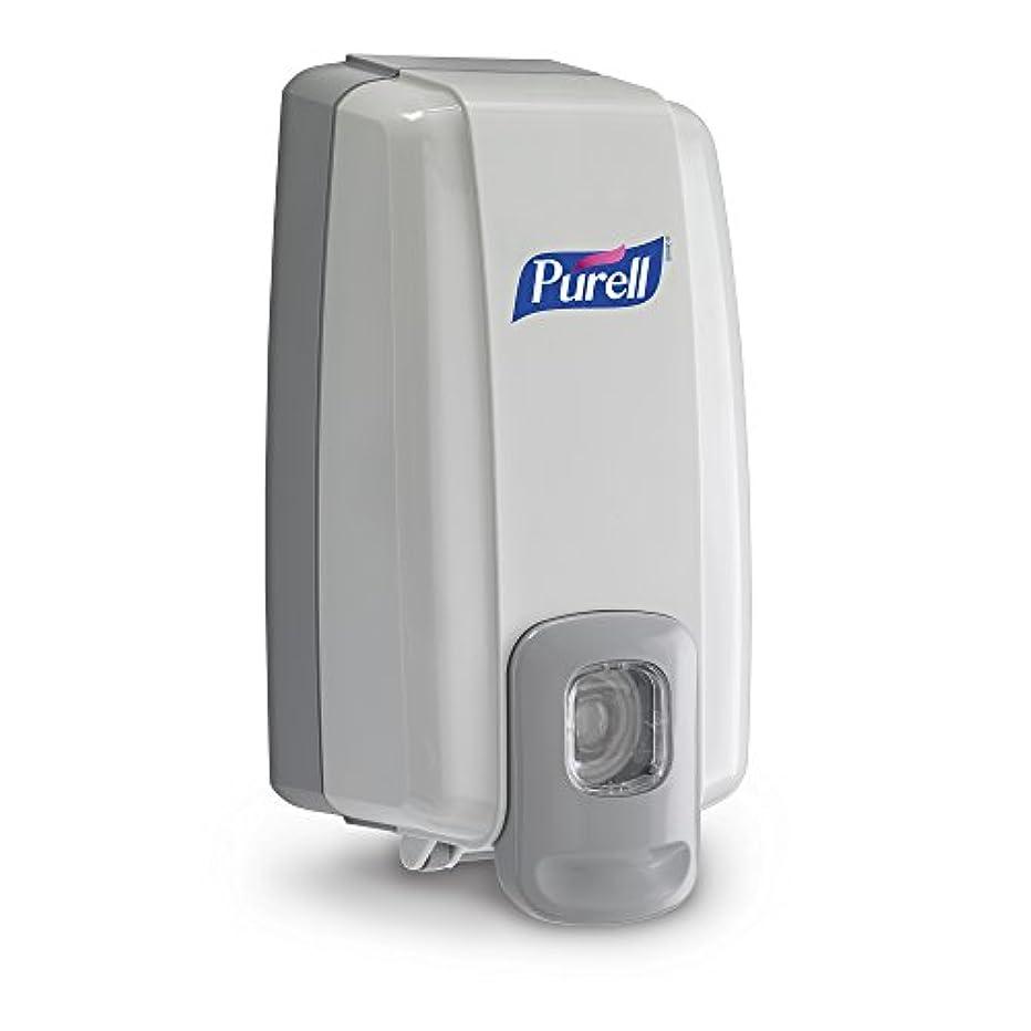 弁護治世ピアースNXT Instant Hand Sanitizer Dispenser, 1000ml, 5-1/8w x 4d x 10h, WE/Gray (並行輸入品)