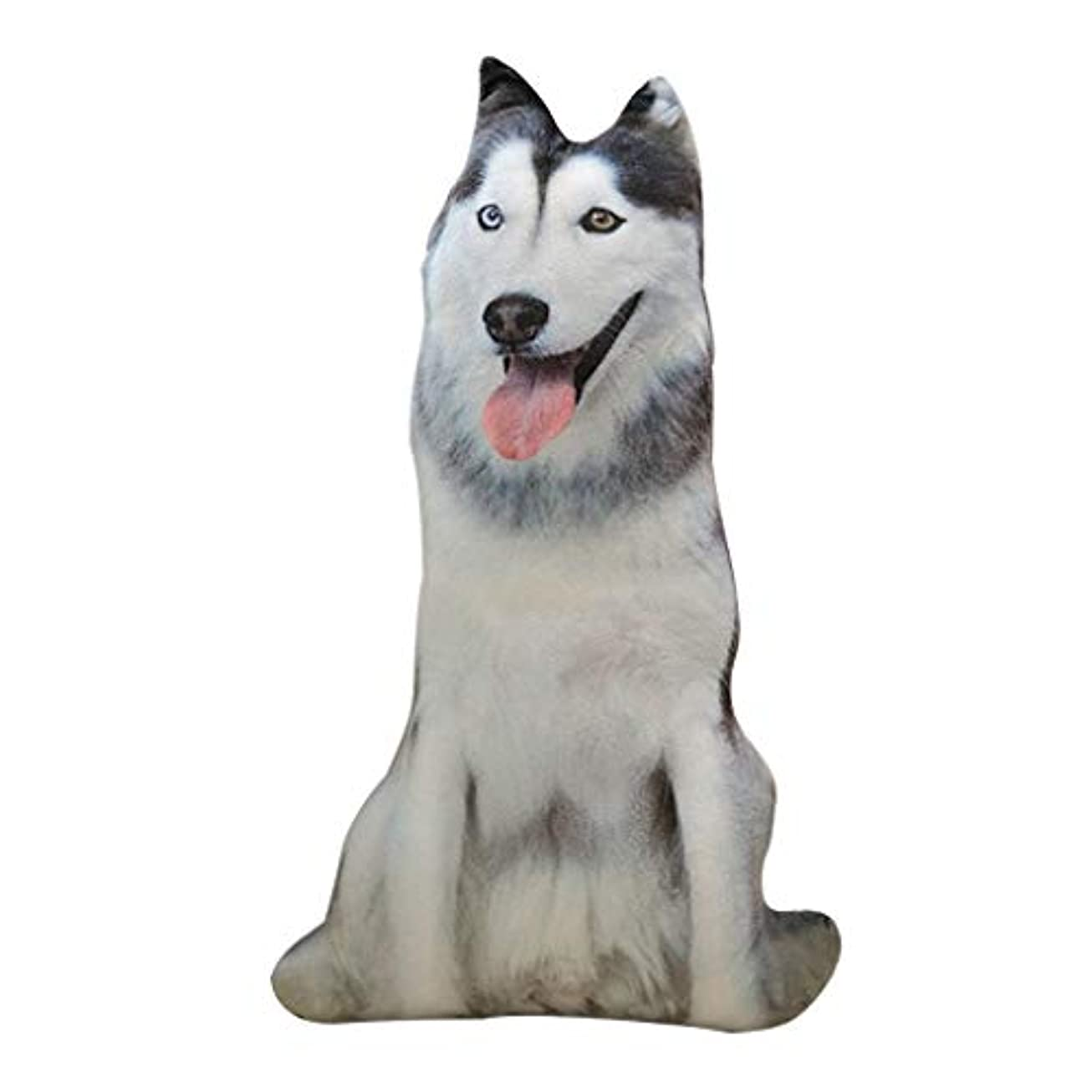 代表朝の体操をするウェーハLIFE 装飾クッションソファおかしい 3D 犬印刷スロー枕創造クッションかわいいぬいぐるみギフト家の装飾 coussin decoratif クッション 椅子