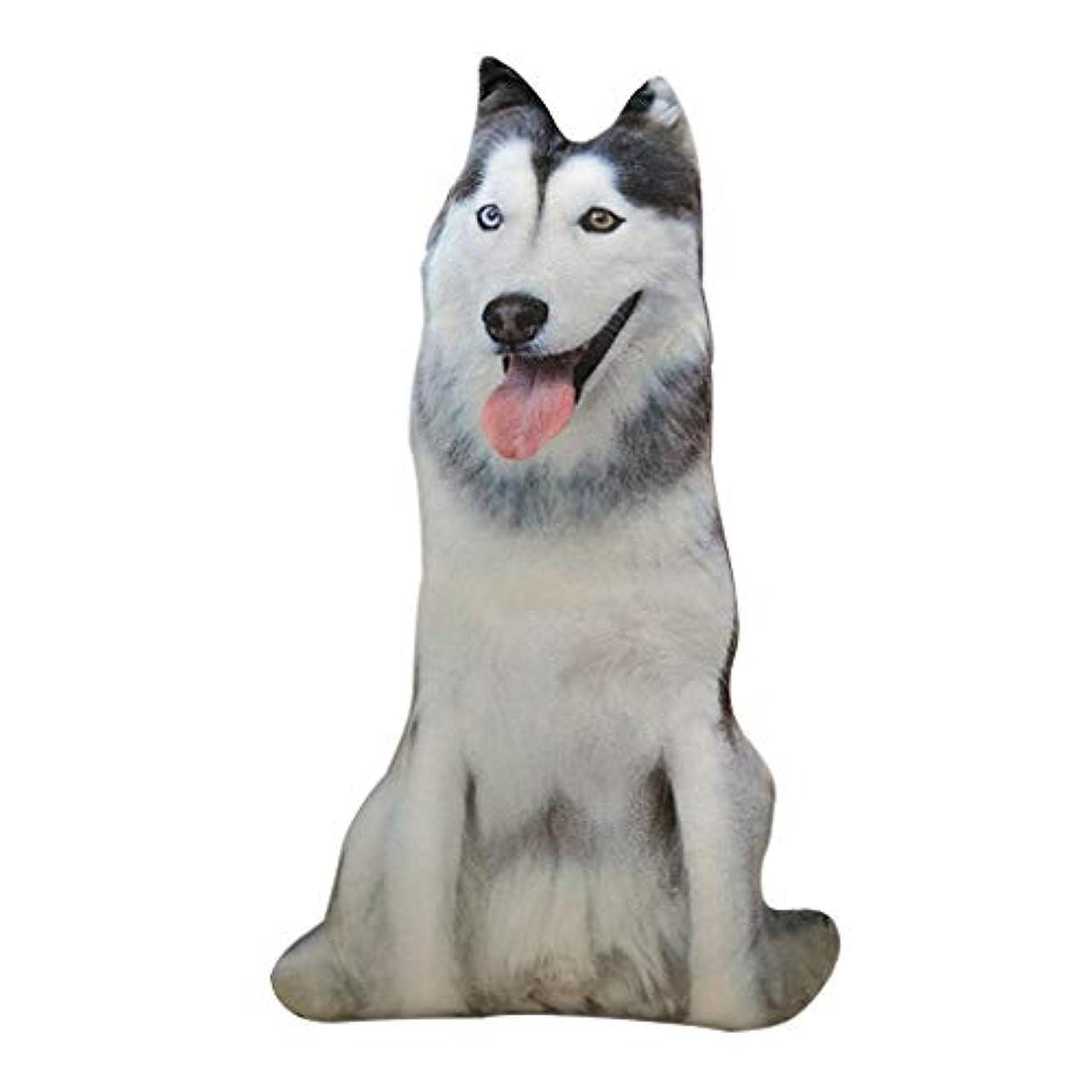 敬礼ギャンブル引退したLIFE 装飾クッションソファおかしい 3D 犬印刷スロー枕創造クッションかわいいぬいぐるみギフト家の装飾 coussin decoratif クッション 椅子