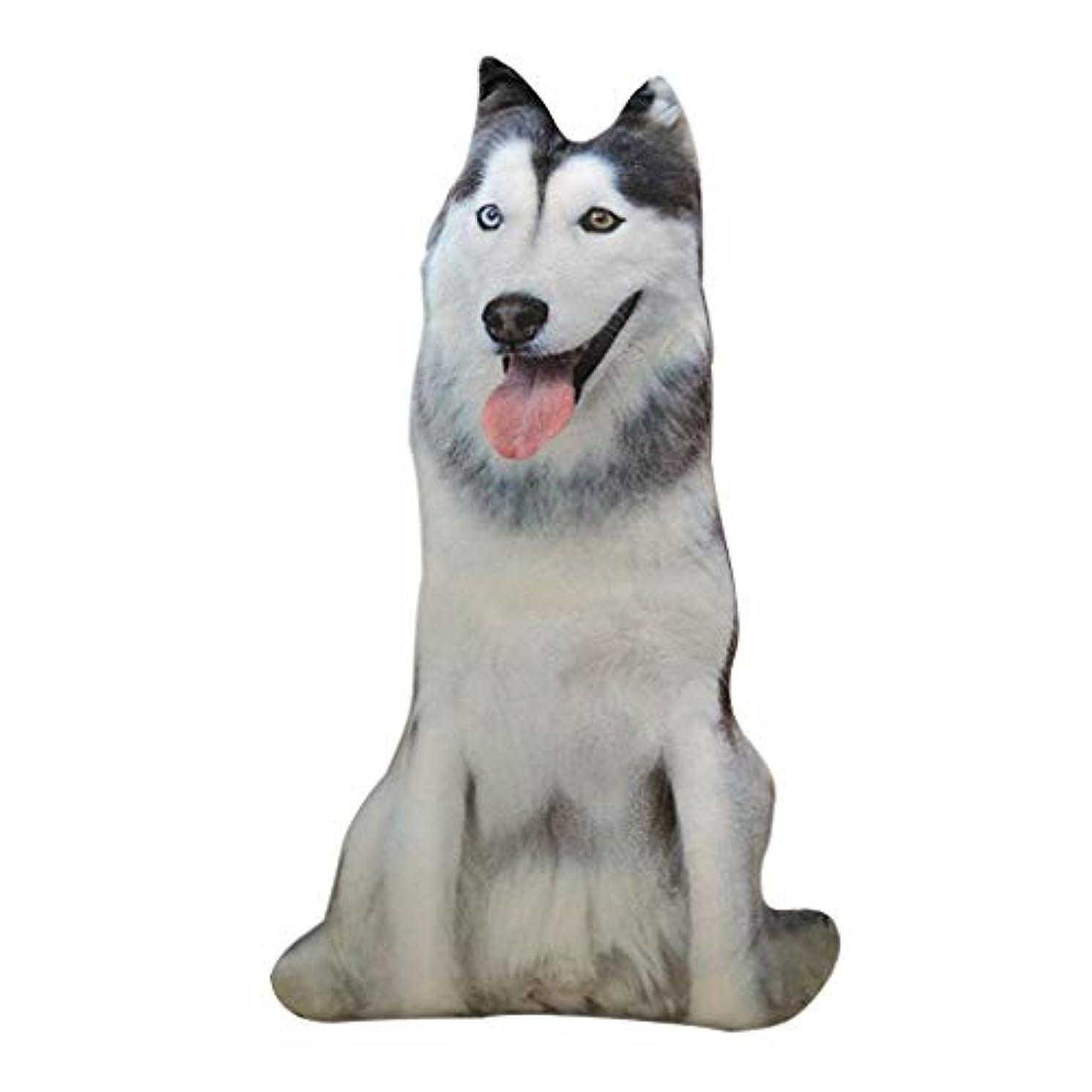 運命的なに渡って母性LIFE 装飾クッションソファおかしい 3D 犬印刷スロー枕創造クッションかわいいぬいぐるみギフト家の装飾 coussin decoratif クッション 椅子