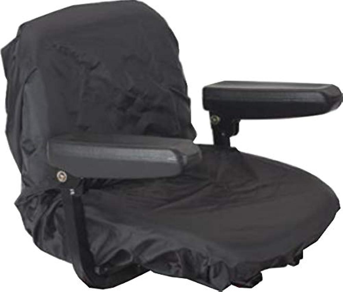 やむを得ない経営者ディーラー電動カート 電動用カートシート PVCコーティング 防水シートカバー (黒ブラック)