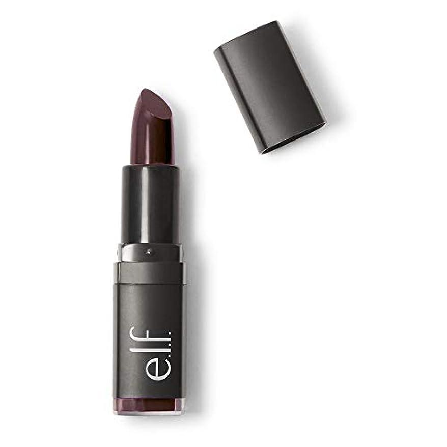 振り向く感じる作家(6 Pack) e.l.f. Studio Moisturizing Lipstick - Black Berry (並行輸入品)