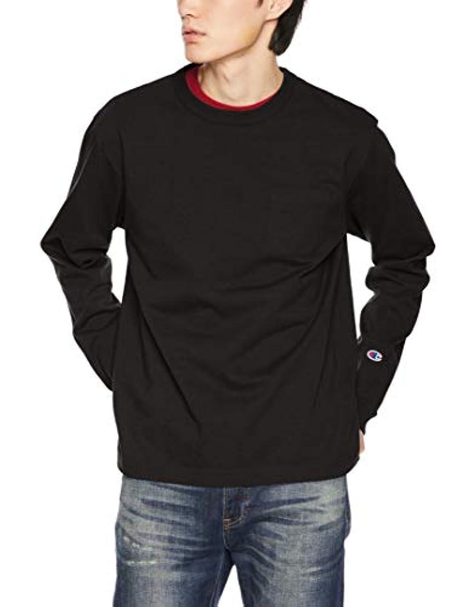 標高静かな誤[チャンピオン] T1011 ロングスリーブTシャツ ワンポイントロゴ C5-P401
