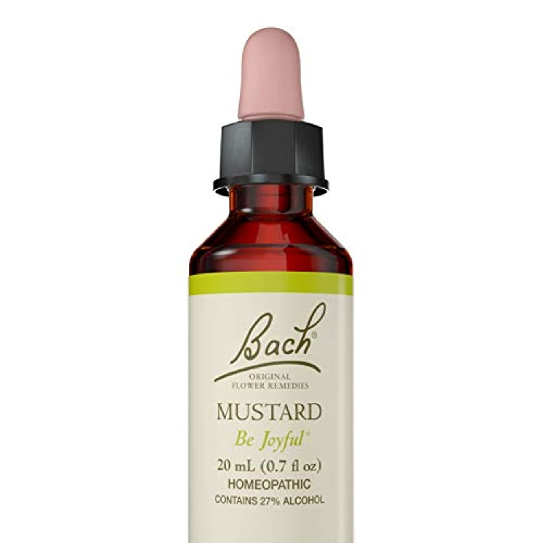 農業のトランジスタヒープ海外直送品Flower Essence Mustard, 20 ML by Bach Flower Essences
