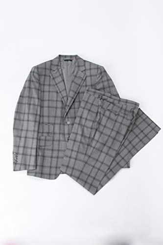 (トムフォード) TOM FORD 2ピーススーツ ビジネススーツ グレー メンズ (522R31 21YA4C) 【並行輸入品】