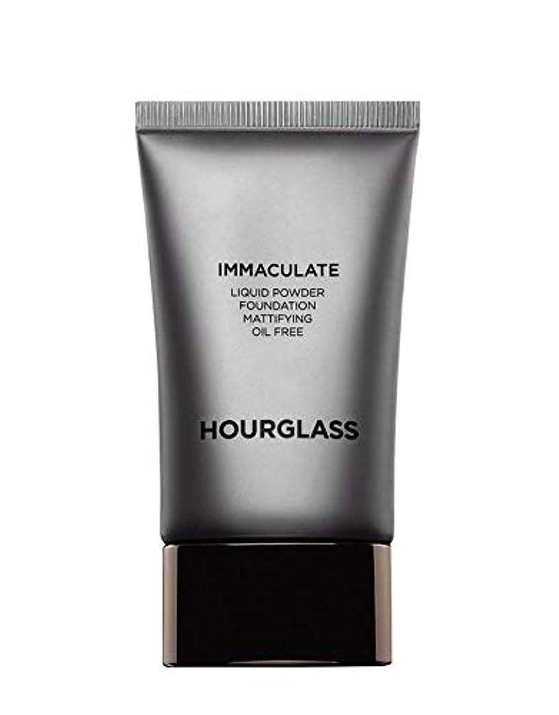 減るコーチ応答HOURGLASS Immaculate Liquid Powder Foundation Mattifying Oil Free NEW PACKAGE 2019 (Bare)