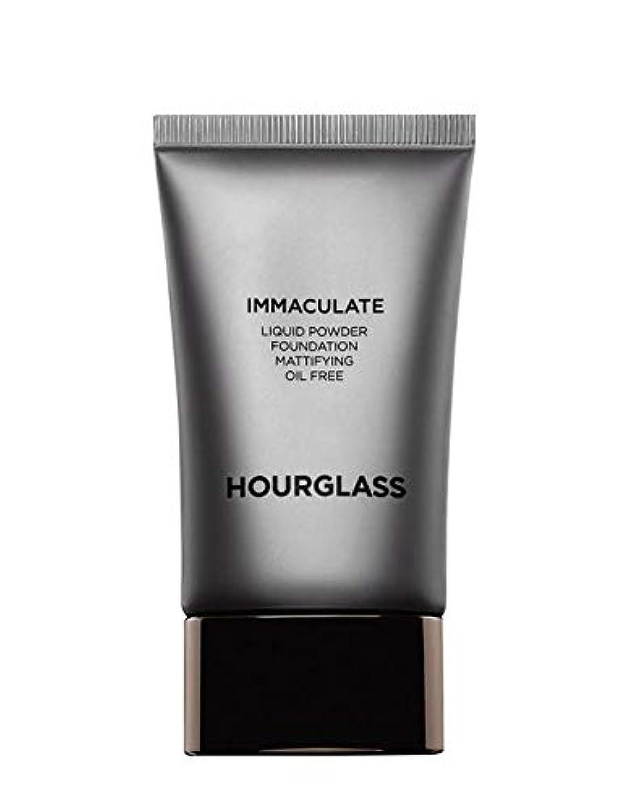 チョコレートリファイン蓄積するHOURGLASS Immaculate Liquid Powder Foundation Mattifying Oil Free NEW PACKAGE 2019 (Bare)