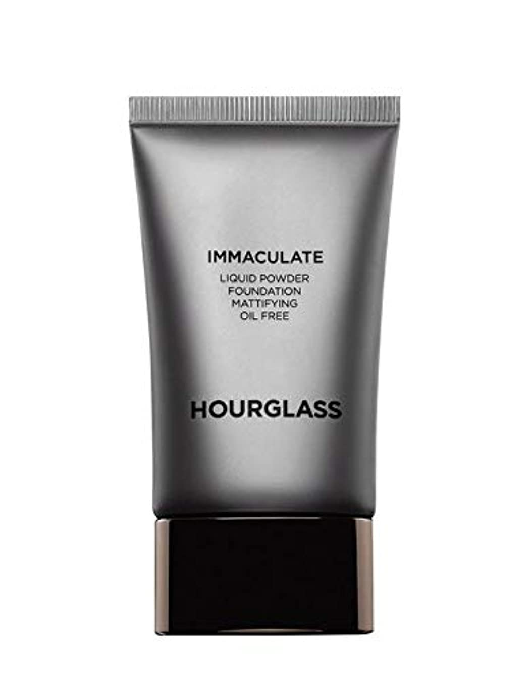 バランスのとれたメンタル柱HOURGLASS Immaculate Liquid Powder Foundation Mattifying Oil Free NEW PACKAGE 2019 (Bare)