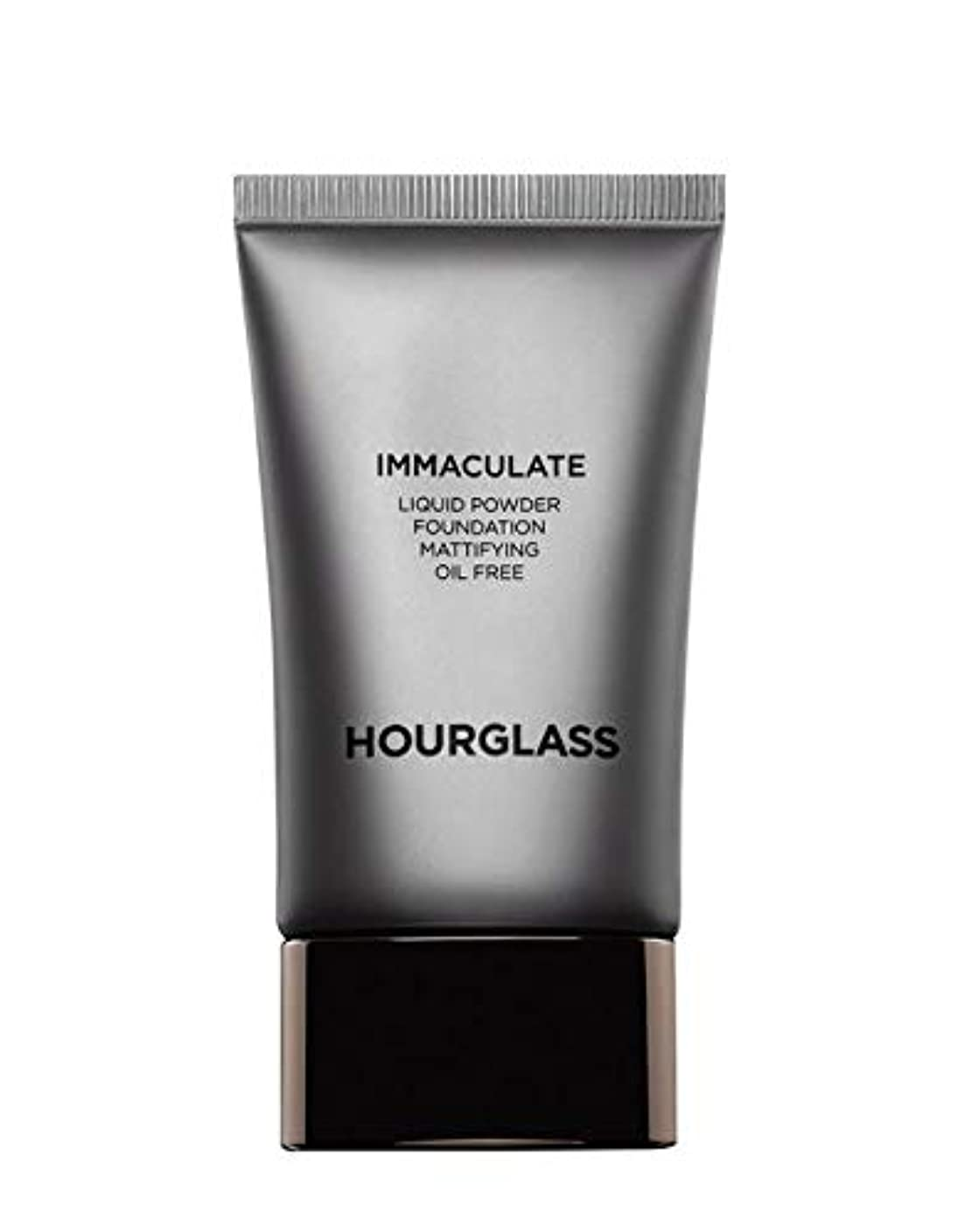 むしろ社会学野望HOURGLASS Immaculate Liquid Powder Foundation Mattifying Oil Free NEW PACKAGE 2019 (Bare)