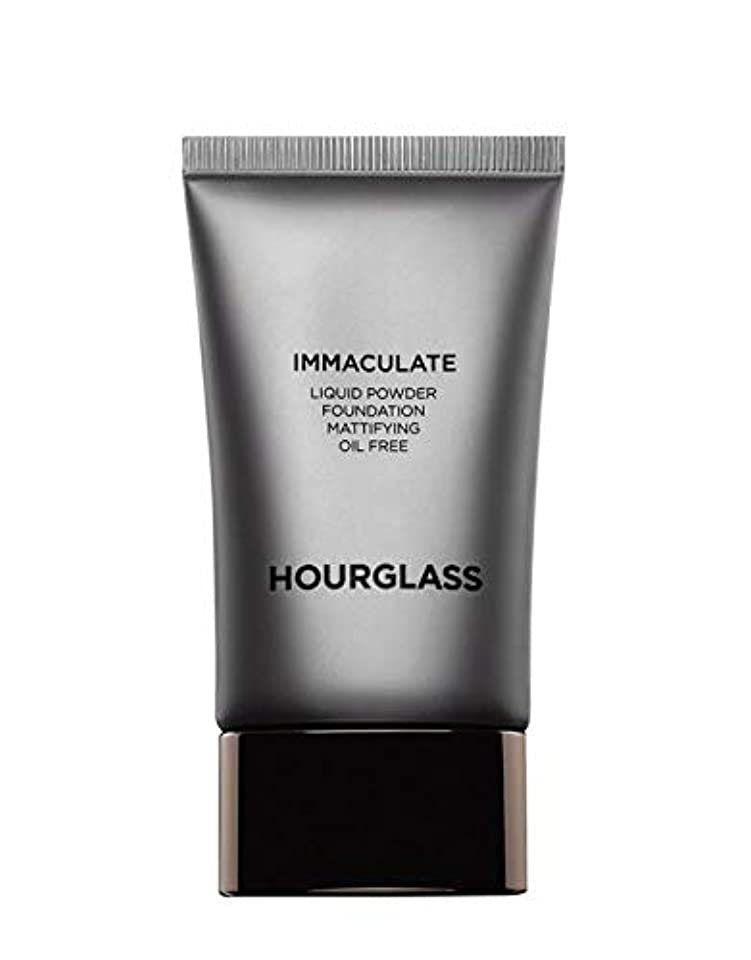 専制同等のパスポートHOURGLASS Immaculate Liquid Powder Foundation Mattifying Oil Free NEW PACKAGE 2019 (Bare)