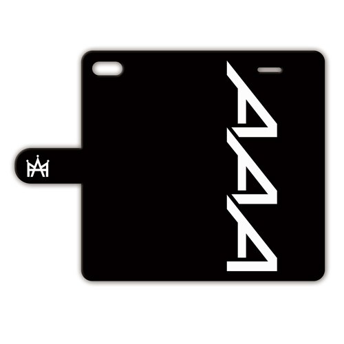 iPhone8 iPhone7 手帳型ケース 【AAA】 黒...