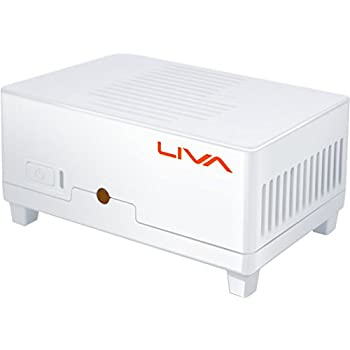ECS 超小型 Bay Trail-M搭載デスクトップ 2.1A出力のモバイルバッテリでも駆動可能 LIVA-C0-2G-64G-W