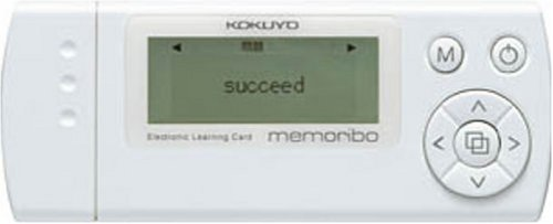 コクヨ 電子暗記カード memoribo ホワイト  NS-DA1W