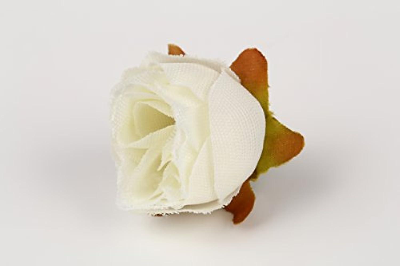 ( Phantasien ) 造花 20個 セット ( ホワイト ) 13種類のカラーを組み合わせて自分だけのフラワーセットに!